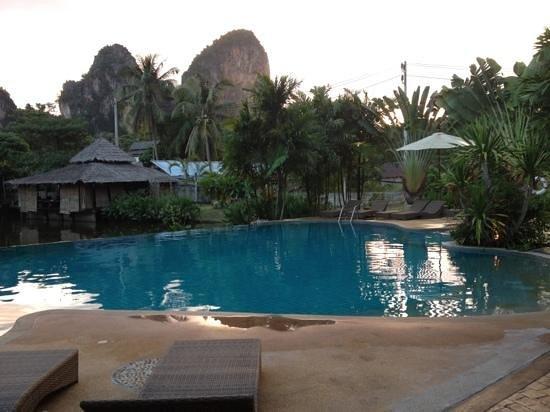 Railay Princess Resort & Spa: the great pool!