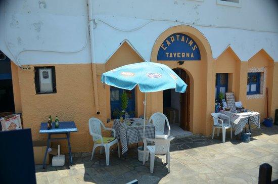 Dodecanese, Greece: Taverna Captain, Mandraki, Nisyros.