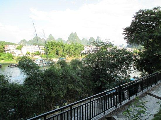 يانجشو جرينلوتوس هوتل: View from our room