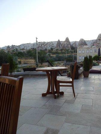 Goreme Inn Hotel: Terrazas