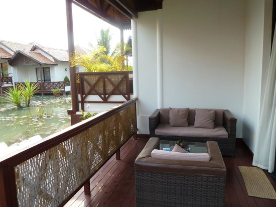 Suites And Sweet Resort Angkor: TERRASSE