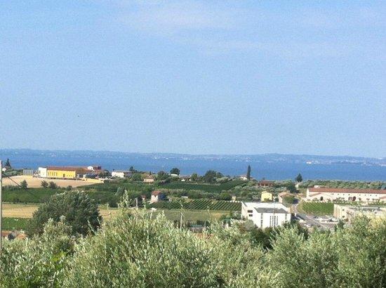 Tenuta La Pergola: View from Rondinella room (zoomed)