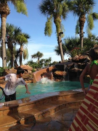 The San Luis Resort: kids love it!