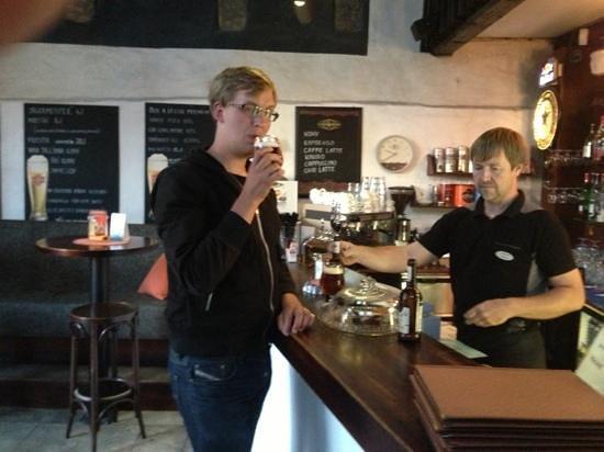 Pub Vaekoda: Beer tasting