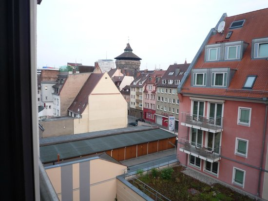Holiday Inn Nurnberg City Centre: view from our room