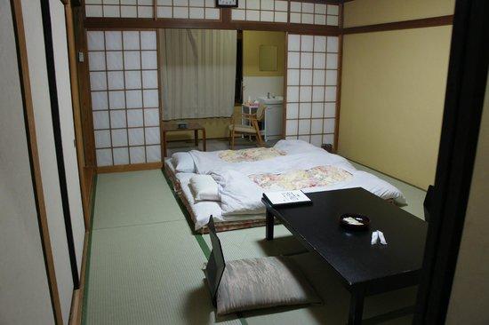 Nikko Tokanso: Habitación