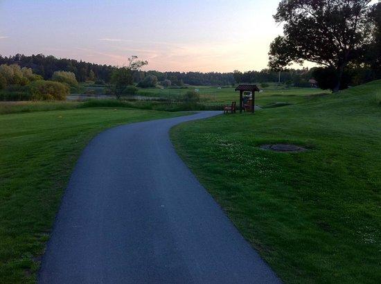 FågelbroHus Hotel: Omgivande golfbana