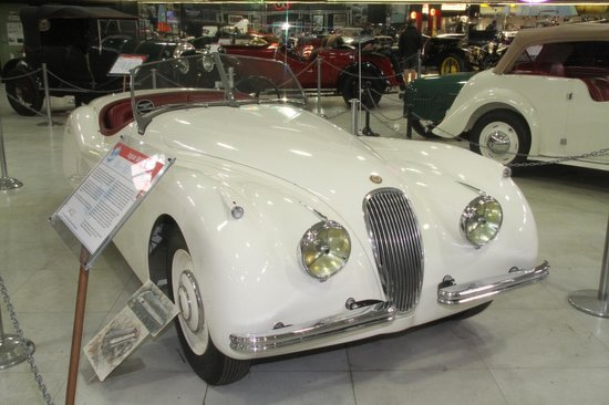 San Diego Automotive Museum: 1947 Cadillac, Louie Mattar's Record-breaking Car, Full Of