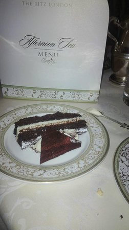 The Ritz London : Black Forest Cake