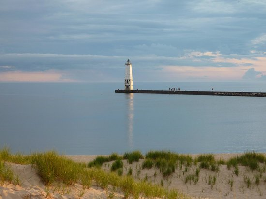 Blessings by the Beach: Frankfort light