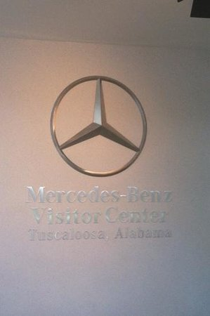 Mercedes-Benz US International Visitor Center and Factory Tour: front desk
