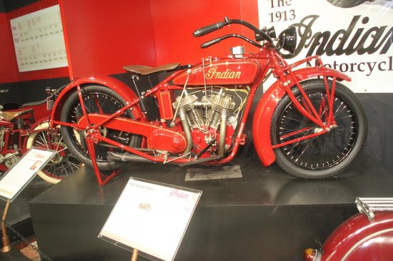 San Diego Automotive Museum: 1924 Indian Chief motorcycle