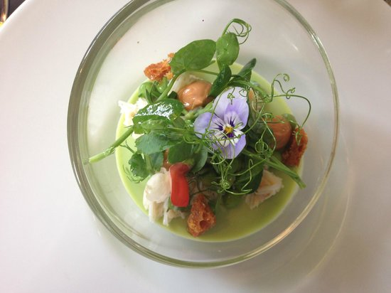 Purslane: Crab and Pea