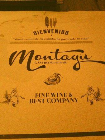 Montagu Gastro Wine Bar: menu-Quien comparte su comida no pasa solo la vida