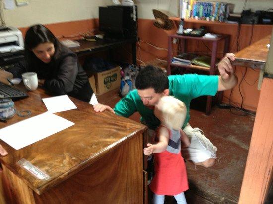 Pension Santa Elena : a sweet goodbye