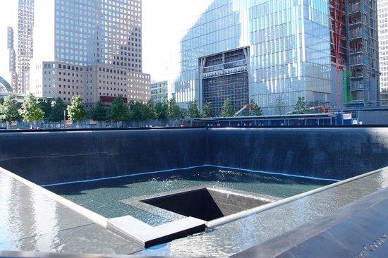 Memorial pool picture of 911 ground zero tour new york - Ground zero pools ...