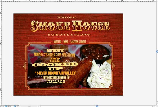 SMOKEHOUSE BBQ & SALOON, WALLACE ID