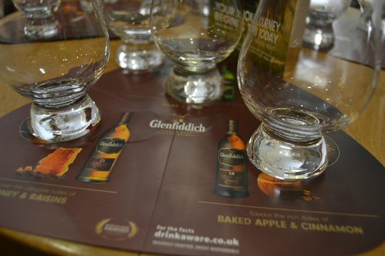 Glenfiddich Distillery: l'assaggio di whisky