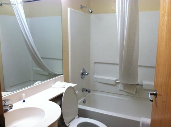 Microtel Inn & Suites by Wyndham Cottondale/tuscaloosa: bathroom