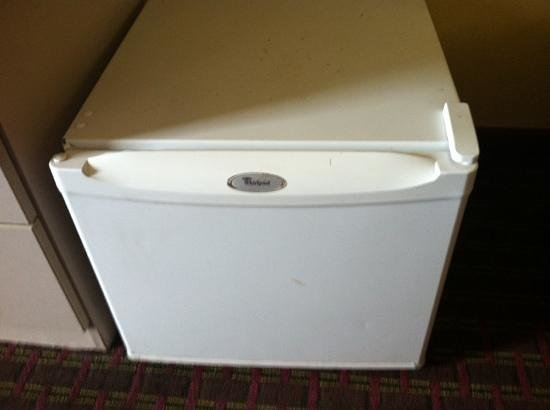 Microtel Inn & Suites by Wyndham Cottondale/tuscaloosa: mini fridge on the floor