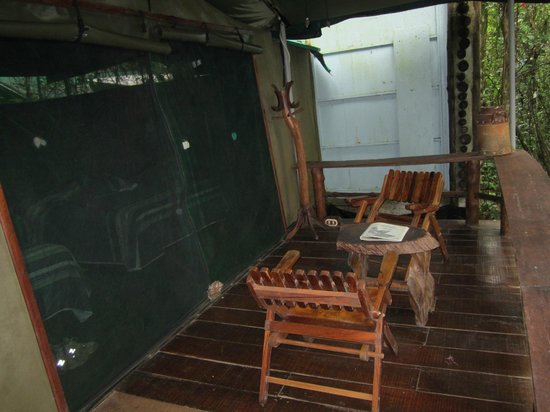 Hacienda Pozo Azul : Sitting area - bring repellent