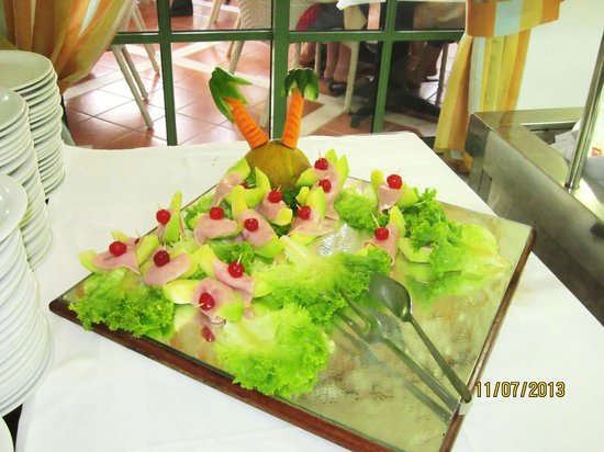 Samaina Inn Hotel: вкусности