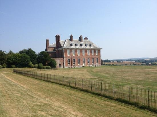 Uppark: House from the dairy walk!