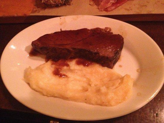 Cafe Ba-Ba-Reeba!: Riojas braised short rib- tender but bland, potatoes tasted packaged