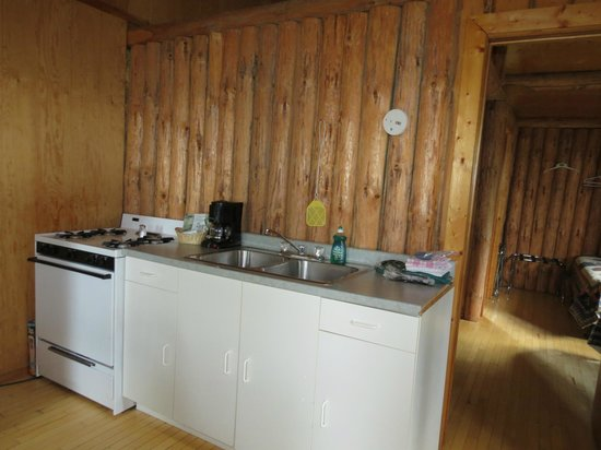 Loch Island Lodge: Kitchenette