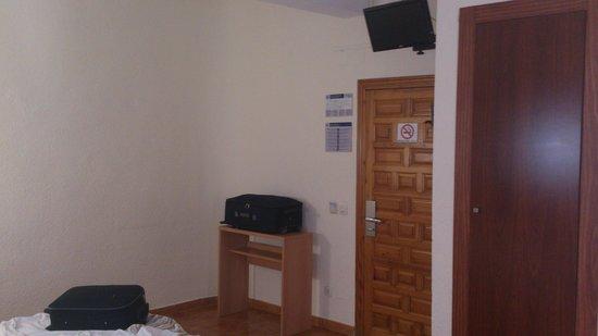 Hotel Kristal : Ubicación del televisor