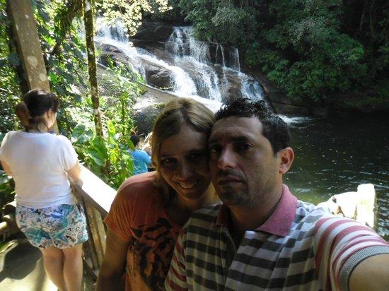 Pousada Praia do Jabaquara: Cachoeira