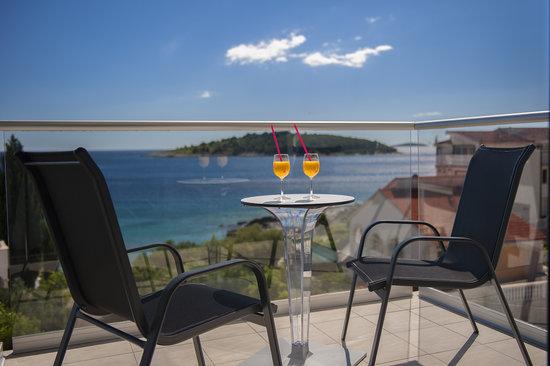 Hotel Life: Balcony view