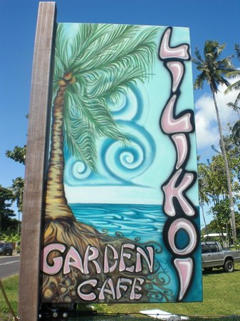 Lilikoi Garden Cafe: bienvenue!