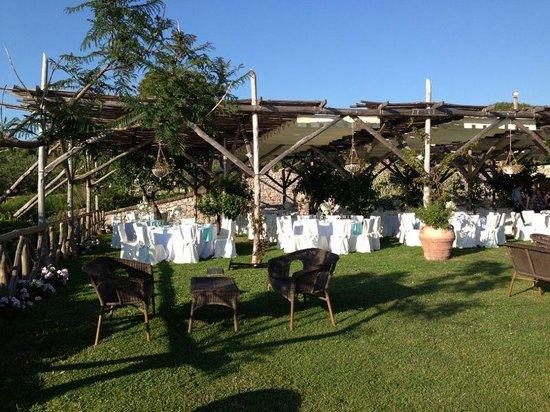 Le Officine di Villa Giusso: prato
