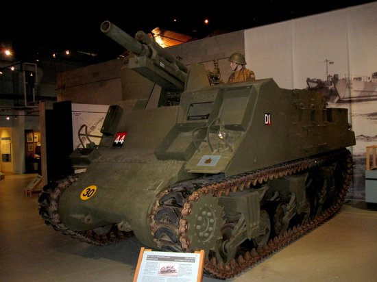 Shilo, Canadá: M.7 Motorized howitzer