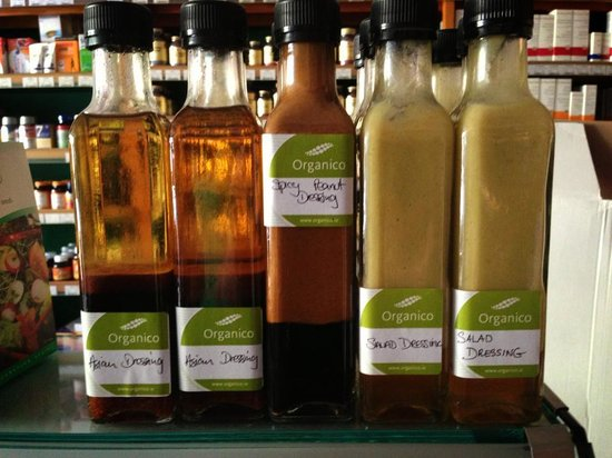 Organico Cafe : Dressings for you to try out at home!