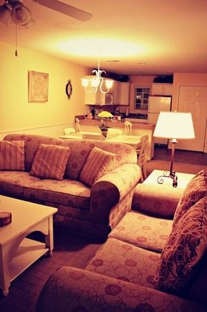 Silverleaf Holiday Hills Resort: kitchen, dining area, and living room