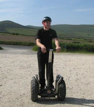 Segway Isle of Man: Grandson Aidan