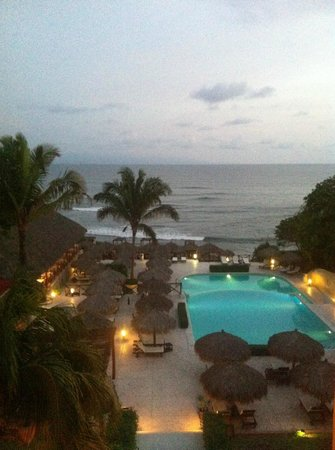 The Royal Suites Punta de Mita by Palladium: View from our hallway on the 3rd floor
