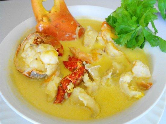 Bay Side Restaurant & Grill: Sopa de Mariscos