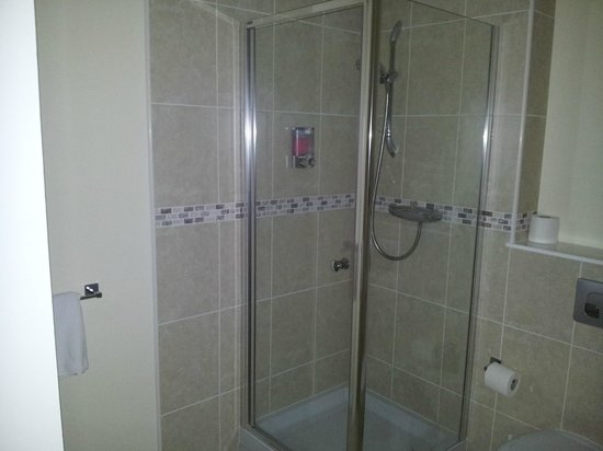 Glenbank House Hotel: The shower room, top quality and very clean