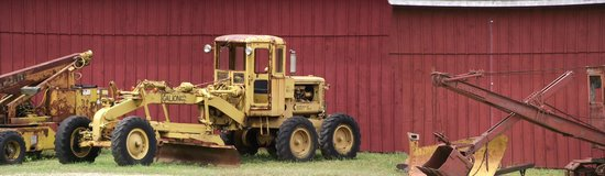 Connecticut Antique Machinery: grader