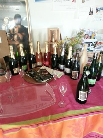Auberge de Nicey : Champagne Marcoult