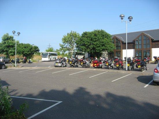 Best Western Passage House Hotel : Plenty of parking