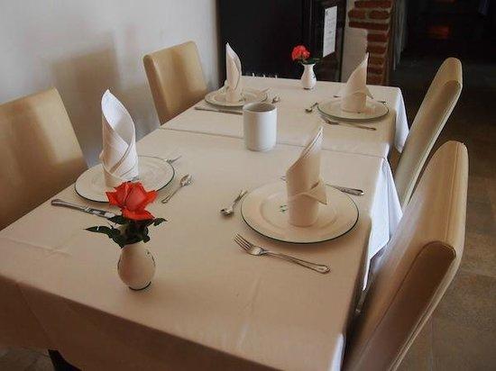 Schlosshotel Mailberg: Breakfast area