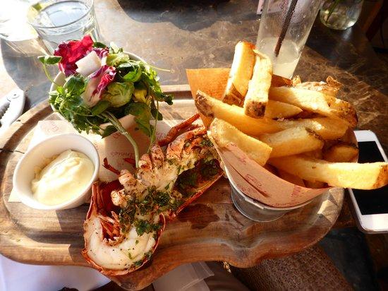 Annie's Restaurant- Chiswick: Lobster dinner