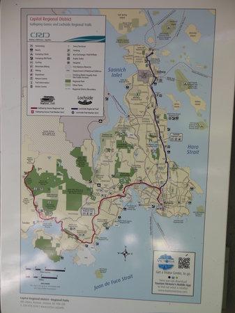 Galloping Goose Regional Trail : Galloping Goose & Lochside Trail Maps