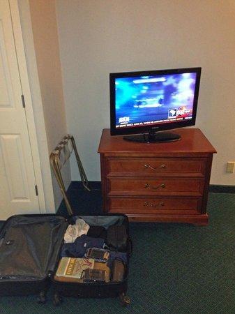 La Quinta Inn & Suites Brunswick : tv