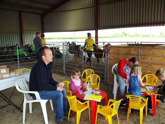 Abbotts View AlpacasAbbotts View Farm: Crafts in the barn on Open Farm Sunday