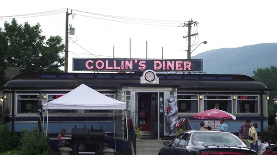 Collin's Diner: front
